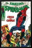 Marvel Comics Retro: The Amazing Spider-Man Comic Book Cover No68  Crisis on Campus