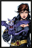 X-Men Forever No4 Cover: Pryde and Kitty Fighting
