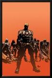 Secret Avengers No121 Cover: Steve Rogers  Moon Knight  Black Widow  War Machine  and Valkyrie