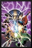 Avengers & The Infinity Gauntlet No1 Cover: Ms Marvel  Hulk  Wolverine  Spider-Man  and Thanos