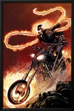 Ghost Rider No1: Ghost Rider Flaming and Riding a Motorcycle