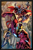 Avengers No121: Iron Man  Ms Marvel  Protector  and Thor