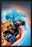X-Men No201 Cover: Iceman and Cannonball