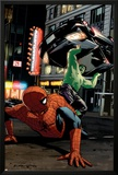 Spider-Man Unlimited No11 Cover: Hulk and Spider-Man