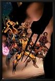 Uncanny X-Men No450 Cover: Wolverine  Bishop  Nightcrawler  Storm and X-Men Fighting