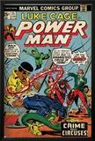 Marvel Comics Retro: Luke Cage  Hero for Hire Comic Book Cover No25  Crime and Circus (aged)
