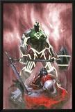 Fear Itself: Hulk vs Dracula No3 Cover: Hulk Standing Over a Fallen Dracula