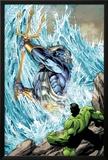 Incredible Hulks No621: Poseidon Facing Hulk with his Enchanted Trident