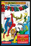 Amazing Spider-Man Annual No1 Cover: Spider-Man  Sandman  Mysterio  Dr Otto Octavius  and Electro
