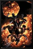 X-Force No12 Cover: X-23  Wolverine  Domino  Warpath and Archangel