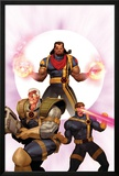 X-Men: The Times and Life of Lucas Bishop No3 Cover: Cable  Cyclops and Bishop