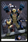 Uncanny X-Men No511 Group: Wolverine  Cyclops  Colossus and Northstar