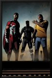 Black Panther: The Most Dangerous Man Alive No526: Falcon  Black Panther  and Luke Cage
