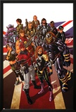 Revolutionary War: Alpha 1 Cover: Captain Britain  Angel  Killpower  Wisdom  Pete  Colonel Liger