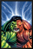 Hulk No30 Cover: Hulk and Rulk Screaming