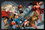 X-Men Forever 2 No15: Storm  Scarlet Witch  Quicksilver  Captain America  Thor  Vision  and Others