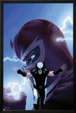 Uncanny X-Force No9 Cover: Wolverine and Magneto