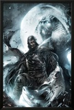 Shadowland: Moon Knight No2 Cover: Moon Knight Standing