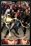 Avengers: The Childrens Crusade No7: Rictor  Shatterstar  Madrox  Strong Guy  and Scarlet Witch