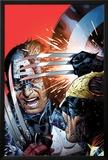 Avengers vs X-Men No3 Cover: Captain America Fighting Wolverine