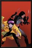 X-23 No20 Cover: Jubilee and X-23