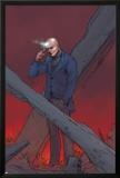 X-Men: Prelude to Schism No1 Cover: Professor X Using Telepathy