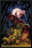 Skaar: King of The Savagle Land No2 Cover: Skaar  Devil Dinosaur  Moon Boy  and Ka-Zar