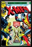 Marvel Comics Retro: The X-Men Comic Book Cover No100  Professor X