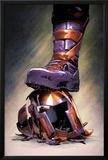 Magneto: Not a Hero No3 Cover: Magneto Crushing his Helmet