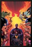What If Avx 1 Cover: Hulk  Captain America  Iron Man  Beast  Wolverine  Hope  Magneto