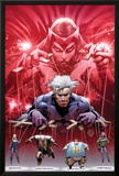 Ultimate Fallout No5 Cover: Witch  Quicksilver  Sabretooth  Blob  and Mystique