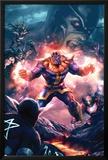 The Thanos Imperative No3 Cover: Thanos Screaming