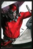 Vengeance No1 Cover: Magneto Smashing