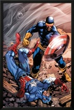 X-Men Forever 2 No15 Cover: Cyclops and Captain America