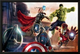 The Avengers: Age of Ultron - Captain America  Hulk  Iron Man  and Thor