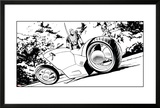 Avengers Assemble Inks Featuring Hawkeye