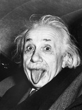 Albert Einstein with his Tongue Out