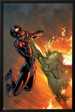 Miles Morales: Ultimate Spider-Man 3 Cover Featuring Spider-Man  Green Goblin
