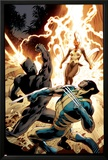 Wolverine 8 Cover: Wolverine  Storm  Black Panther