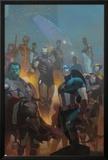 Avengers 24 Cover: Wolverine  Black Widow  Captain America  Spider-Man  Iron Man  Hulk  Thor