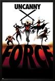 Uncanny X-Force 6 Cover: Spiral  Psylocke  Cluster  Storm  Puck