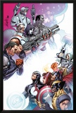 Cable and X-Force 10 Cover: Forge  Cable  Domino  Dr Nemesis  Colossus  Rogue  Thor  Sunfire