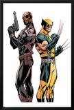 Wolverine 3 Cover: Nick Fury  Wolverine