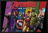The Avengers: Age of Ultron - Hawkeye  Black Widow  Captain America  Iron Man  Hulk  and Thor