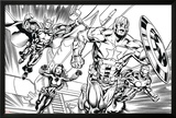 Avengers Assemble Inks Featuring Iron Man  Captain America  Thor  Black Widow