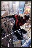 Spider-Man 1 Cover Featuring Ultimate Spider-Man Morales