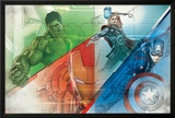 The Avengers: Age of Ultron - Hulk  Thor  and Captain America