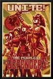 Fearless Defenders 11 Cover: Hippolyta  Moonstar  Misty Knight  Valkyrie  Bloodstone  Elsa