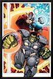 Indestructible Hulk 8 Cover: Thor  Hulk