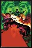 Uncanny X-Men 5 Cover: Cyclops  Magik  Frost  Emma  Magneto